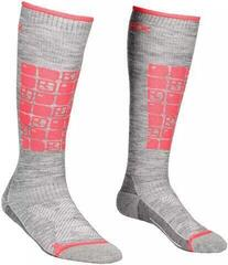 Ortovox Ski Compression Womens Socks Grey Blend