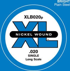 D'Addario XLB020P Single Bass String