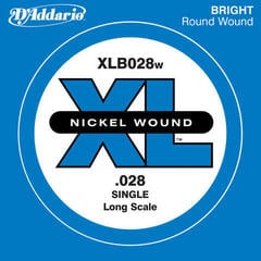 D'Addario XLB028W Single Bass String