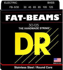 DR Strings Fat Beams Stainless 6 Strings 030-125