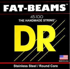 DR Strings Fat Beams Stainless 4 Strings 045-100