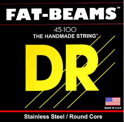 DR Strings Fat Beams Stainless 5 Strings 040-120