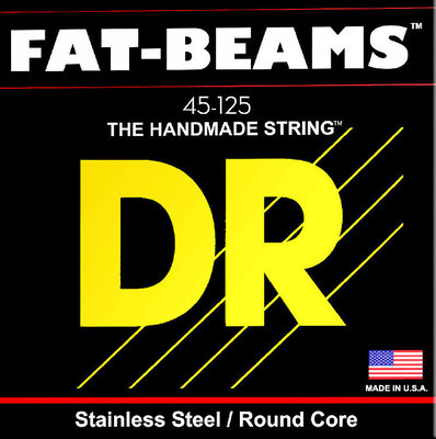 DR Strings Fat Beams Stainless 5 Strings 045-125