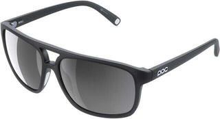 POC Will Uranium Black Translucent-Grey/White Mirror