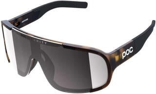 POC Aspire Clarity Tortoise Brown-Violet/Silver Mirror
