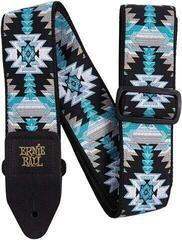 Ernie Ball 4609 Albuquerque Blue Jacquard Strap