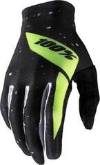 100% Celium Gloves Black/Fluo Yellow XL