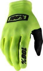100% Celium Gloves Fluo Yellow/Black