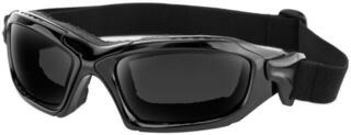 Bobster Diesel Goggles Gloss Black Lenses Interchangeable