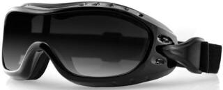 Bobster Night Hawk OTG Goggles Black Lenses Smoke
