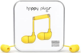 Happy Plugs In-Ear Yellow