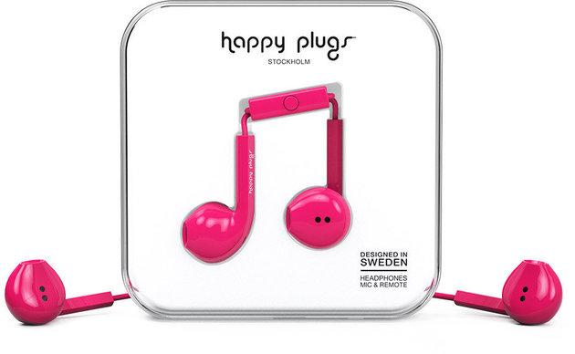 Happy Plugs Earbud Plus Cerise