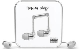 Happy Plugs In-Ear Silver Deluxe Edition