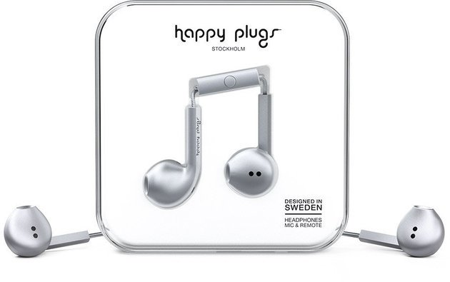 Happy Plugs Earbud Plus Space Grey Deluxe Edition