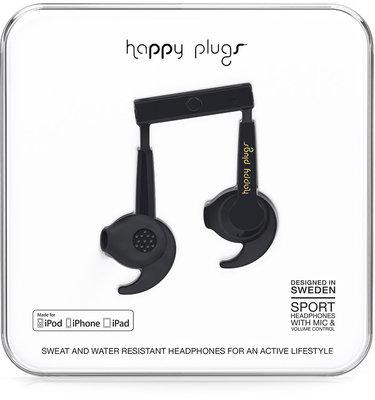 Happy Plugs Sport MFI Black