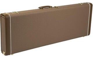Fender G&G Deluxe Strat/Tele Hardshell Case, Brown