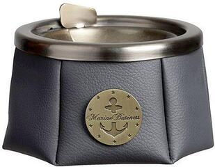 Marine Business Ashtray With Lid Premium Antracita Windproof