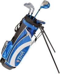 Longridge Junior Tiger Set 12-14 Years 4 Clubs Black/Blue Left Hand