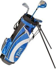 Longridge Junior Tiger Set 4-7 Years 3 Clubs Black/Blue Left Hand