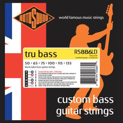 Rotosound RS886LD 6-strings Tru Bass Set 50-135