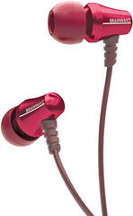 Brainwavz Jive Noise Isolating In-Ear Earphone with Mic/Remote Red