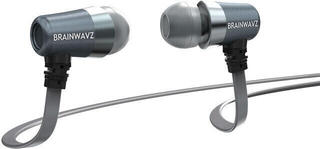 Brainwavz S1 Noise Isolating In-Ear Earphones with Mic/Remote Grey