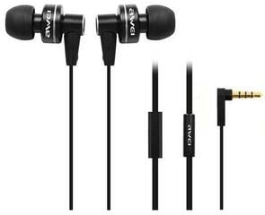 AWEI ES900i Wired In-ear Headphones Earphones Headset Black