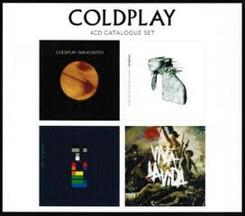 Coldplay 4CD Catalogue Set (4 CD)