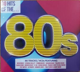 Various Artists 80 Hits Of The 80 (4 CD) Music CD