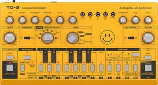 Behringer TD-3 Yellow Synthesizer