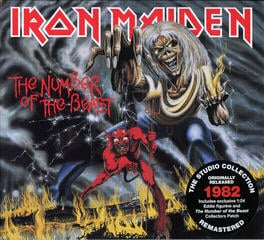 Iron Maiden The Number Of The Beast Music CD
