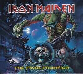 Iron Maiden The Final Frontier (CD)