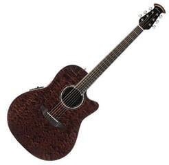 Ovation CS28P-TGE Celebrity Plus Super Shallow - Tiger Eye