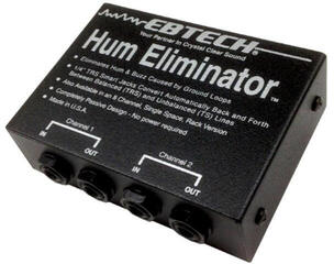 Morley Ebtech Hum Eliminator 2 channel Box