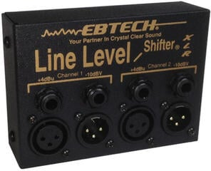 Morley Ebtech Hum Line Level Shifter XLR 2 channel Box