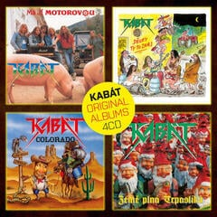 Kabát Original Albums 4CD Vol.1 (4 CD)