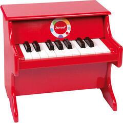 Janod Confetti Red Piano Czerwony