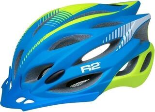 R2 Wind Matt Blue/Fluo Yellow L