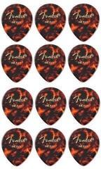 Fender 347 Shape Tortoise Shell Heavy Picks 12 pack