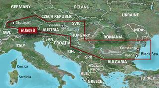 Garmin BlueChart G3 Vision Danube Map VEU509S