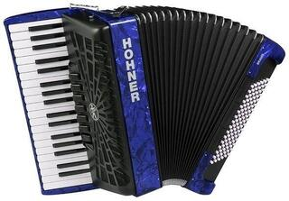 Hohner Bravo III 96 Dark Blue Piano accordion