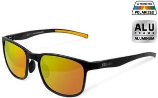 Delphin Polarized Sunglasses SG Black / Orange Lenses