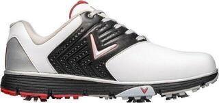 Callaway Chev Mulligan S 2019 Mens Golf Shoes White/Black/Red