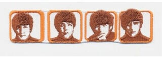 The Beatles Standard Patch Heads in Boxes (Iron On)