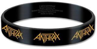 Anthrax Gummy Karkötő Logo