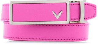 Callaway Ladies Leather Belt Fuchsia