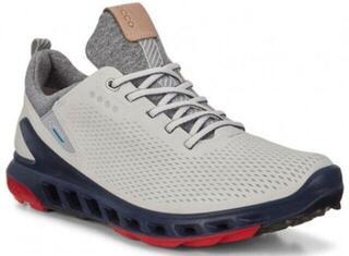 Ecco Biom Cool Pro Mens Golf Shoes White/Scarlet