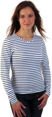 Sailor T-shirt Breton Femme Svetlana White/Blue