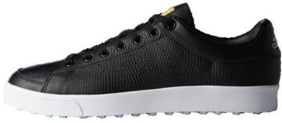 Adidas Adicross Classic Junior Golf Shoes Core Black/Core Black/Footwear White UK 1