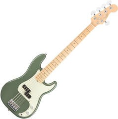 Fender American PRO Precision Bass V MN Antique Olive